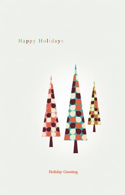 Happyholidays30 Greeting Card (55x85)